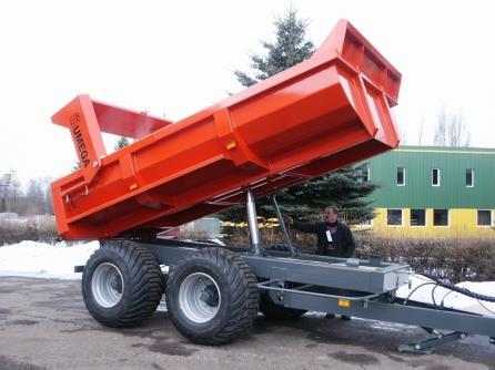 SPD - nosnost 12.000 - 16.000kg, stavební návěsy